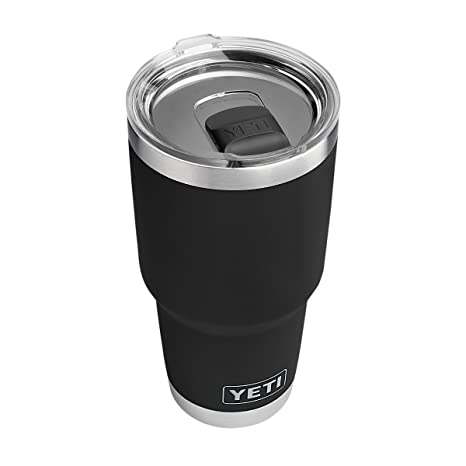f7f51e30909 YETI Rambler 30 oz Stainless Steel Vacuum Insulated Tumbler w/MagSlider  Lid, Black