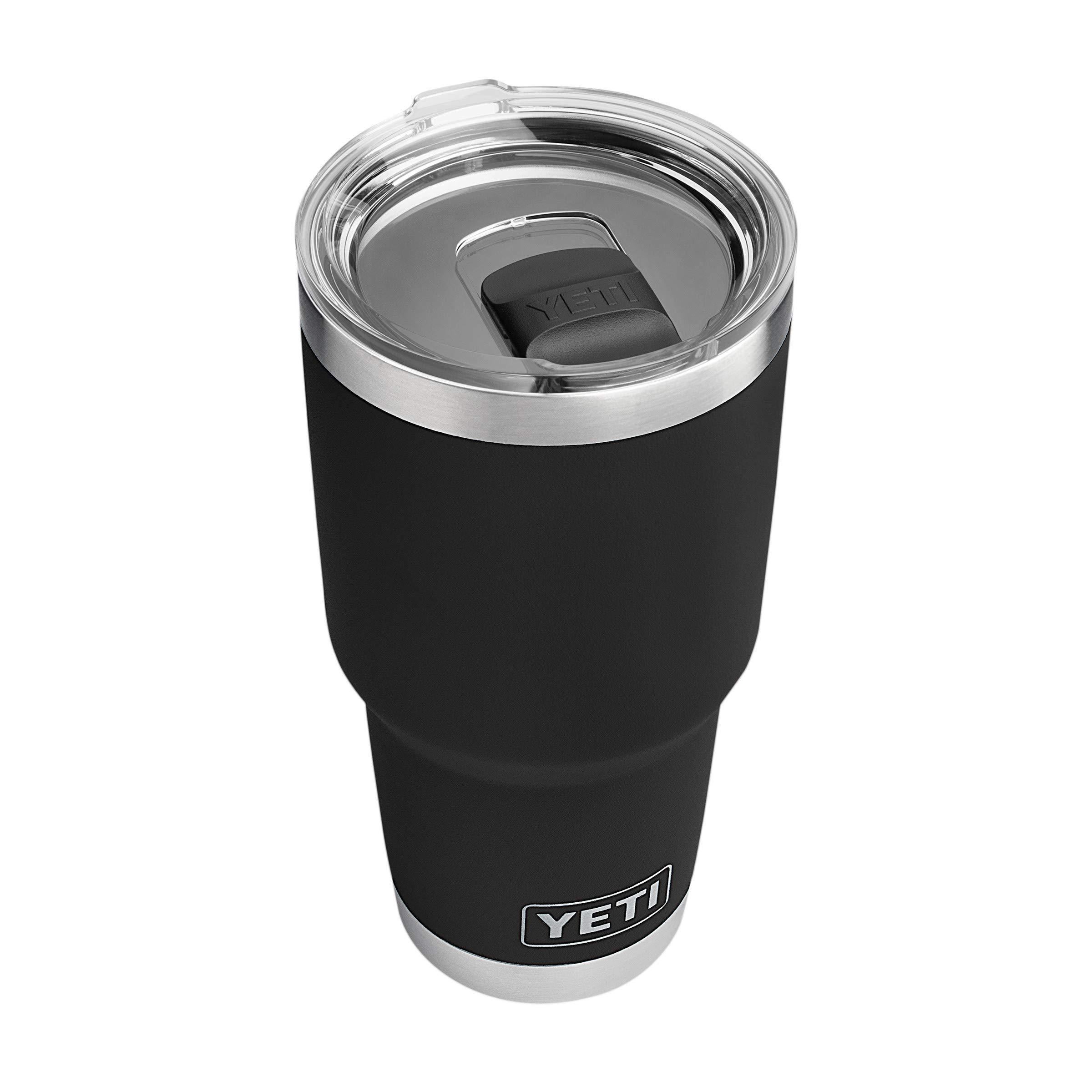 YETI Rambler 30 oz Stainless Steel Vacuum Insulated Tumbler w/MagSlider Lid, Black by YETI