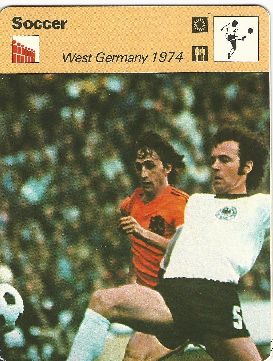 1977-79 Sportscaster Card, 39.16 Soccer, Johann Cruyff, Germany