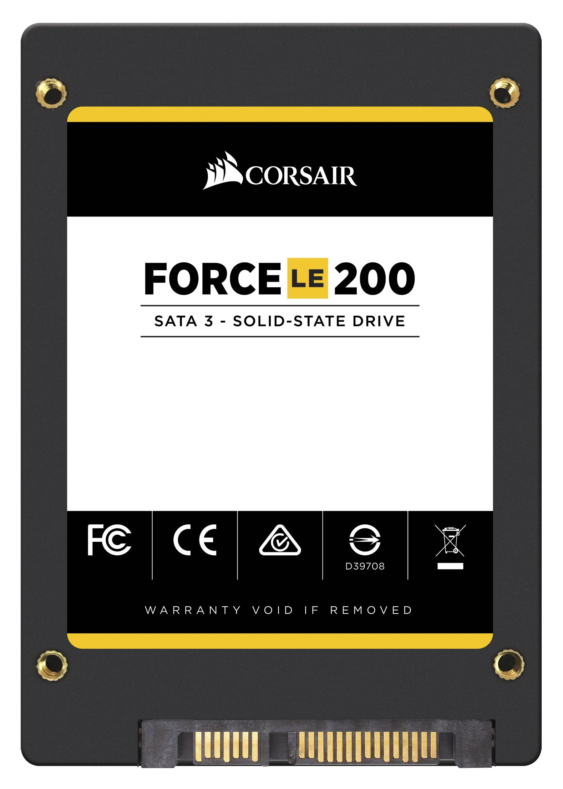 Corsair Memory Only Corsair Force Series LE200 SSD, SATA 6Gbps 120GB 2.5 inches CSSD-F120GBLE200B by Corsair (Image #3)