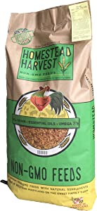 Homestead Harvest Non-GMO Potbelly & Mini Pig Feed 12% for Mature Potbelly and Mini Pigs - 40 lb