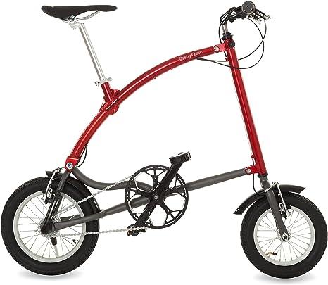 Ossby Curve Bicicleta Plegable, Unisex Adulto, Rojo metálico ...
