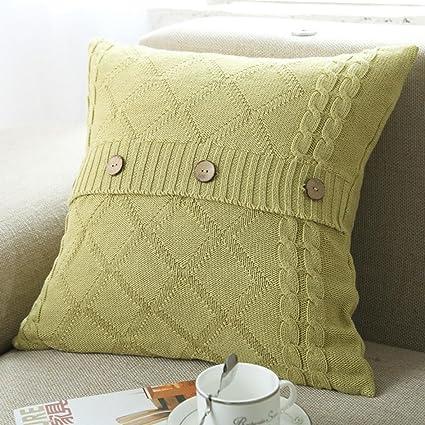 Amazon.com: AmyDong - Funda de cojín para sofá, diseño de ...
