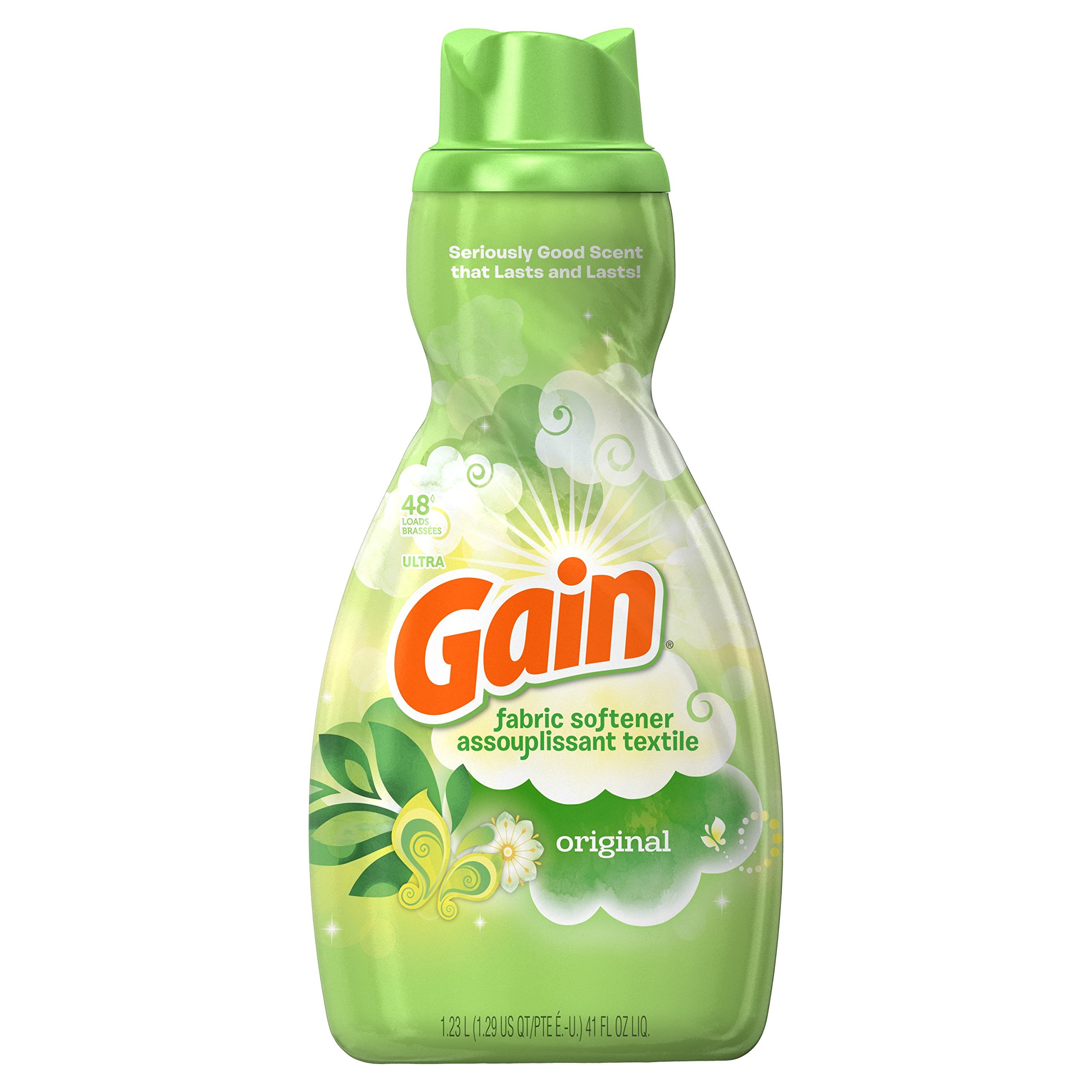 Gain Liquid Fabric Softener, Original, 41 fl oz, 4 Count by Gain (Image #2)