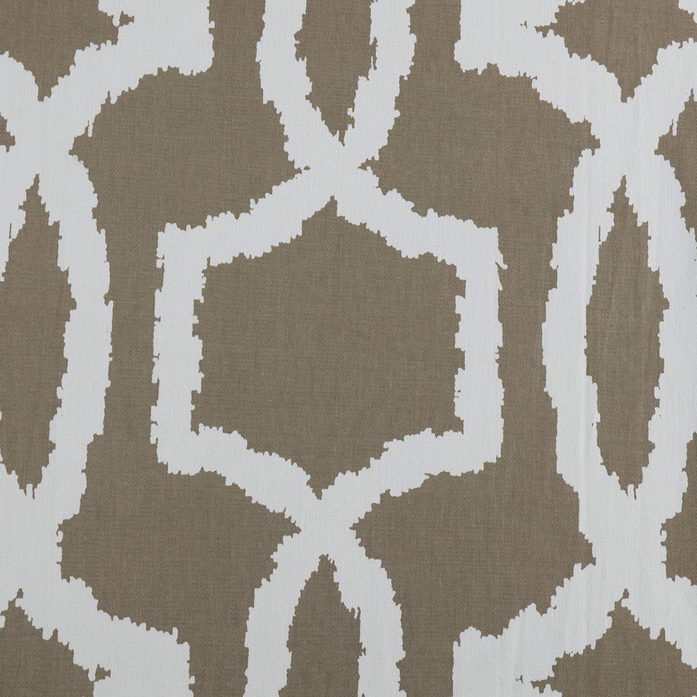 PRTW-D43B-96 Lyons Printed Cotton Twill Curtain,Birch,50 X 96