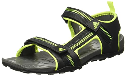 22a045c9dd1c1 Adidas Men s Galore Path M Cblack Syello Visgre Sandals - 10 UK India