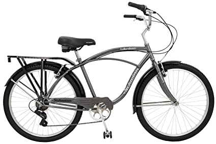 8846b0bad93 Image Unavailable. Image not available for. Color: Schwinn Lakeshore Men's Cruiser  Bike ...