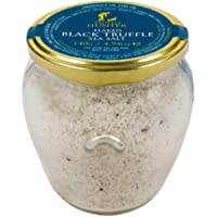 TruffleHunter Flaked Black Truffle Sea Salt (240g) - European Black Summer Truffles (Tuber Aestivum) Seasoned Salt…