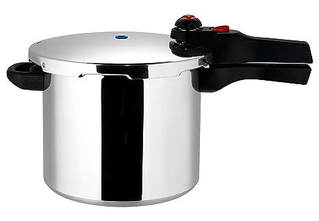 Amazon.com: Prestige Aluminium – Olla a presión, 6L: Kitchen ...