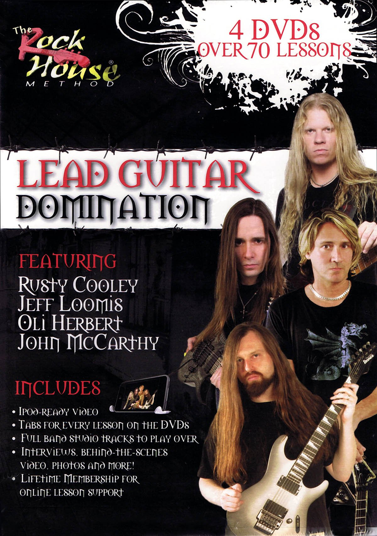 The Rock House Method: Lead Guitar Domination by Rock House