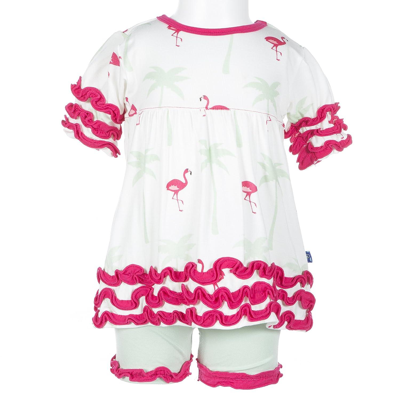 新品本物 KicKee 24 Pants印刷半袖ベビードール衣装セット 18 - 24 Months Flamingo Natural Flamingo Months B01MXS48Z3, DEPARTMENTSTORES:917da207 --- a0267596.xsph.ru