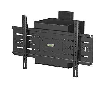Amazoncom Level Mount Articulating Motorized TV Wall Mount for 26