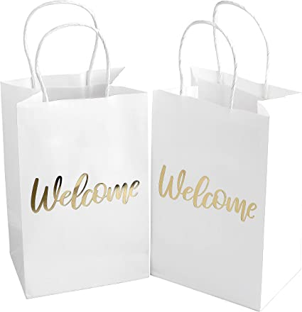 Amazon.com: Bolsas de bienvenida para boda – Elegantes ...