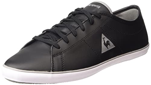 Le COQ SportifSlimset S Lea - Zapatillas Hombre, Color Negro, Talla 39
