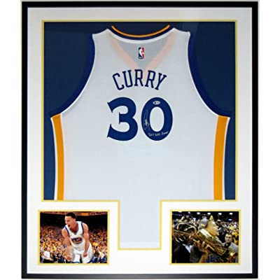 5bddb50f80a Stephen Curry Signed Golden State Warriors Jersey   2017 NBA Champions -  Beckett Authentication COA -
