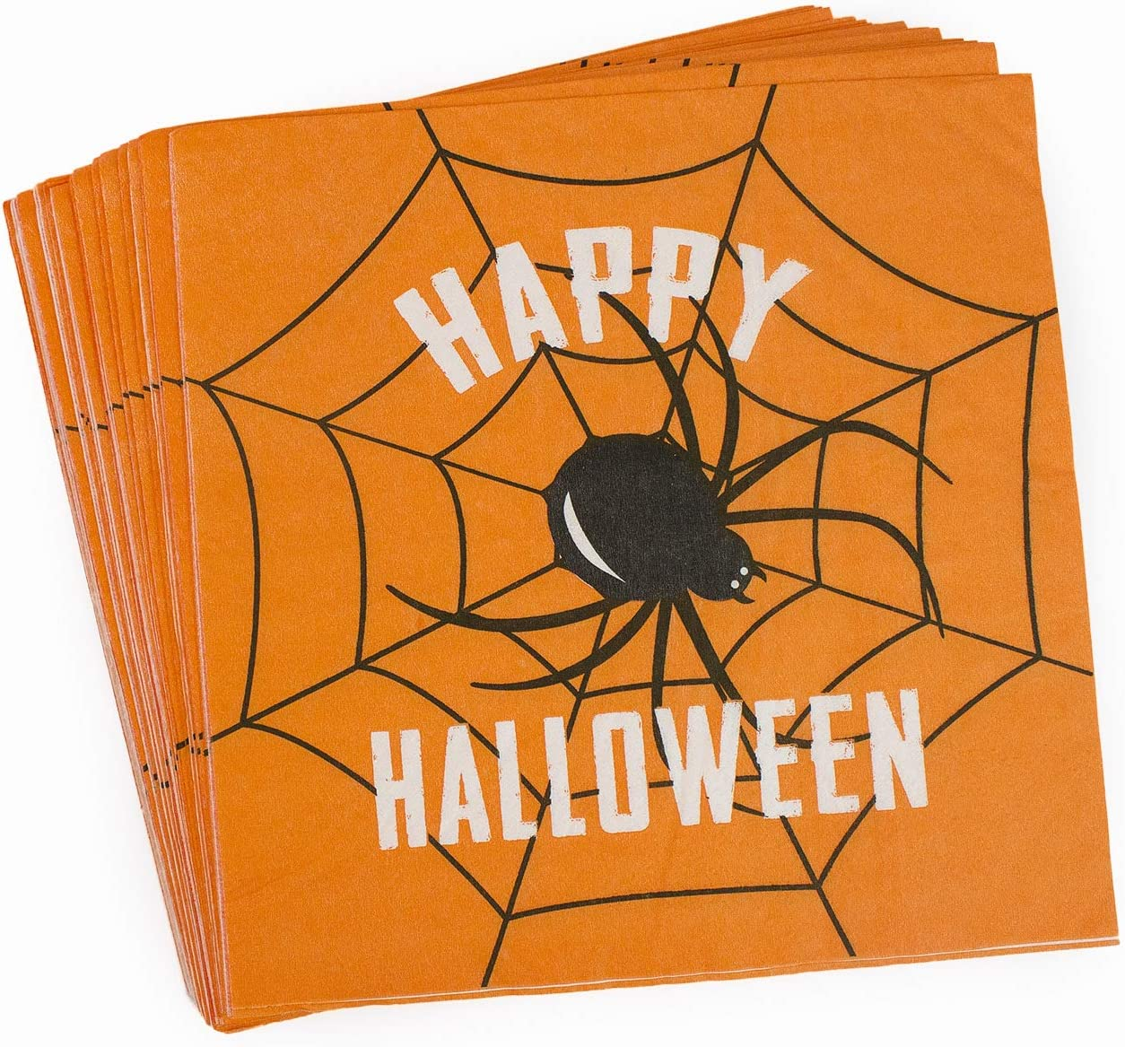 50 Ghost logo Luncheon Dinner personalized napkins halloween holiday specail event