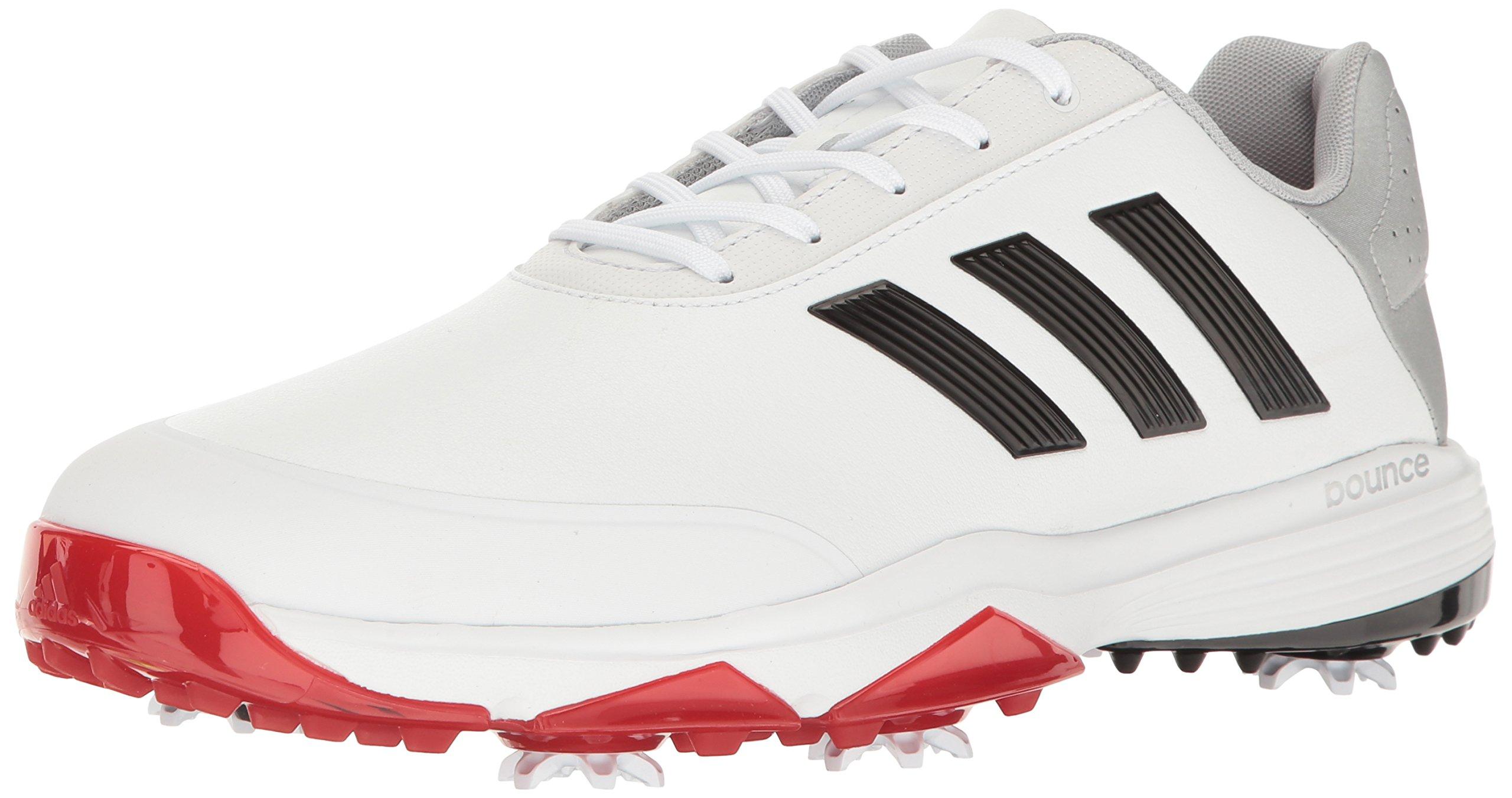 adidas Men's Adipower Bounce Golf Shoe, White, 11.5 M US