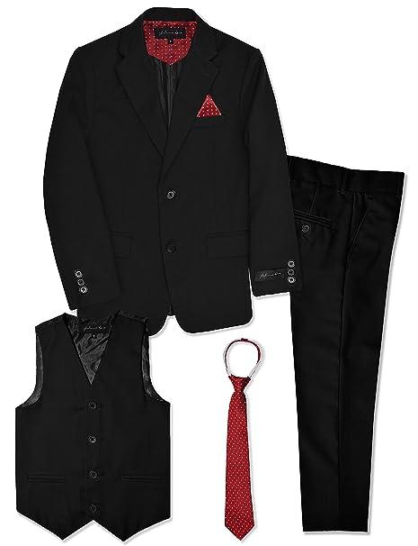 Amazon.com: Johnnie Lene - Conjunto de traje formal para ...