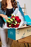 Benchmark Bouquets Red Roses and White Oriental