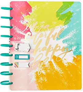 Me & My Big Ideas BOX-186 The Happy Planner 12 Month Classic Undated Box Kit - Colorful Happy, Multicolor