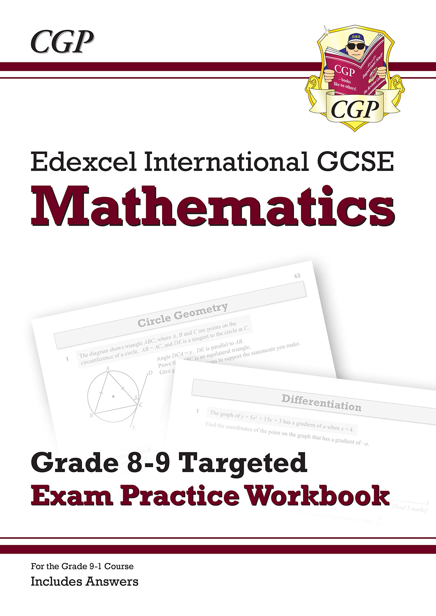 New Edexcel International GCSE Maths Grade 8-9 Targeted Exam