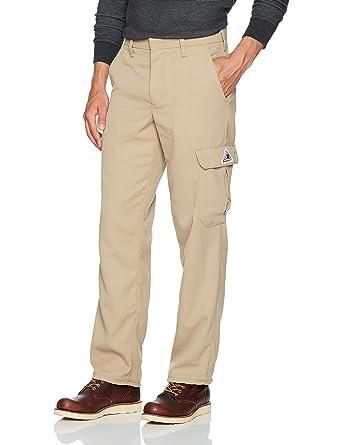 4732e6f322de Amazon.com  Bulwark Men s Cargo Pocket Pant-Cooltouch 2  Clothing
