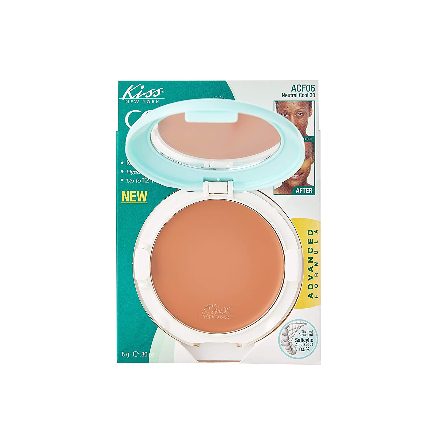 Kiss Cover and Care Cream Foundation Neutral Cool 30 (ACF06)