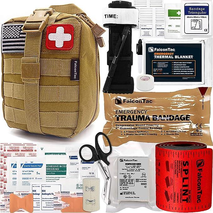 Pull Elastic Tab Emergency Tactical Medical Storage Bag