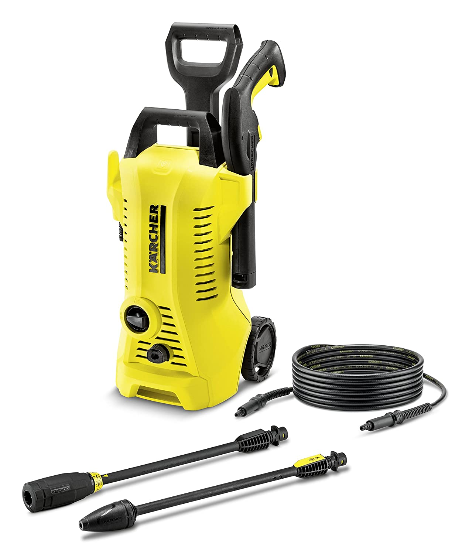 Karcher k2 pressure washer electric full control jet hose - Turn garden hose into pressure washer ...
