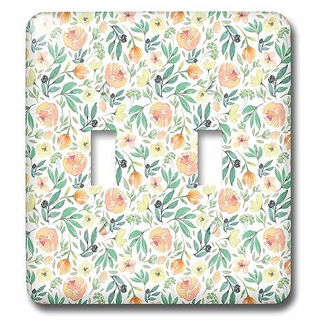 3drose Anne Marie Baugh Patterns Pretty Watercolor Peach Roses