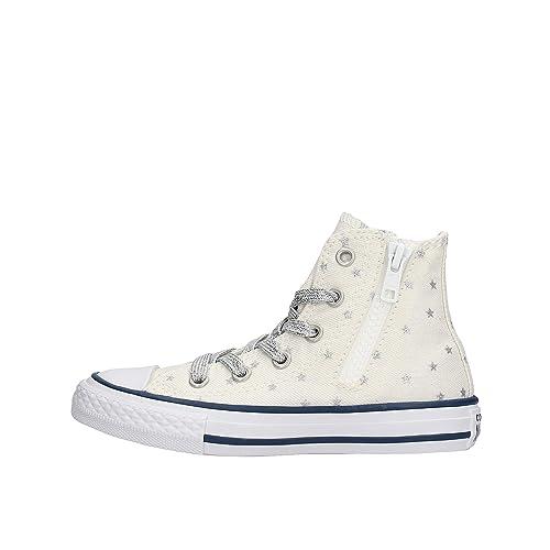 Converse Side Zip Nuovo Bambino Sneakers 664047c TOPXlwkiZu