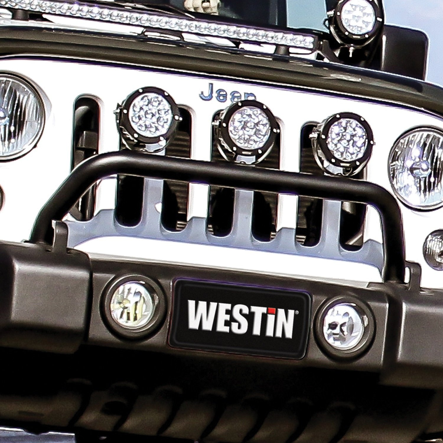 Amazon westin 62 41055 snyper bumper mount light bar automotive mozeypictures Image collections