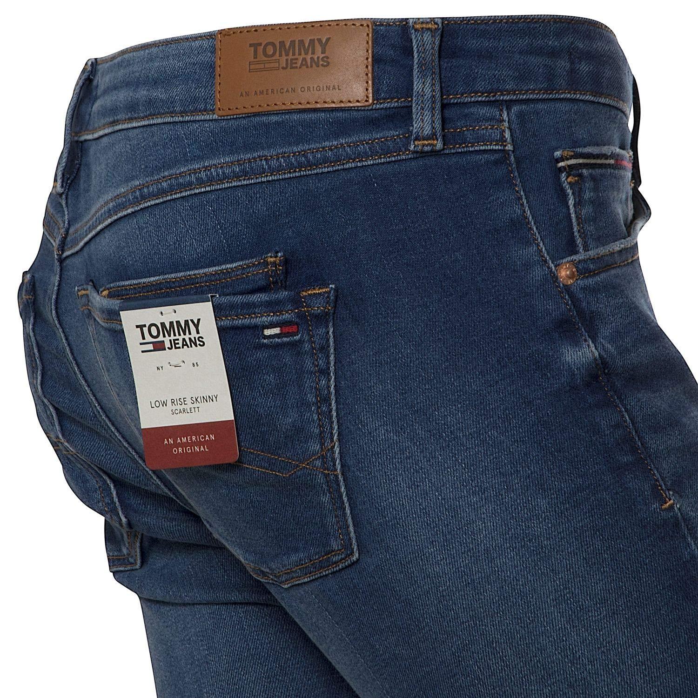 Tommy Jeans NYFRS - Pantalones Vaqueros para Mujer: Amazon ...
