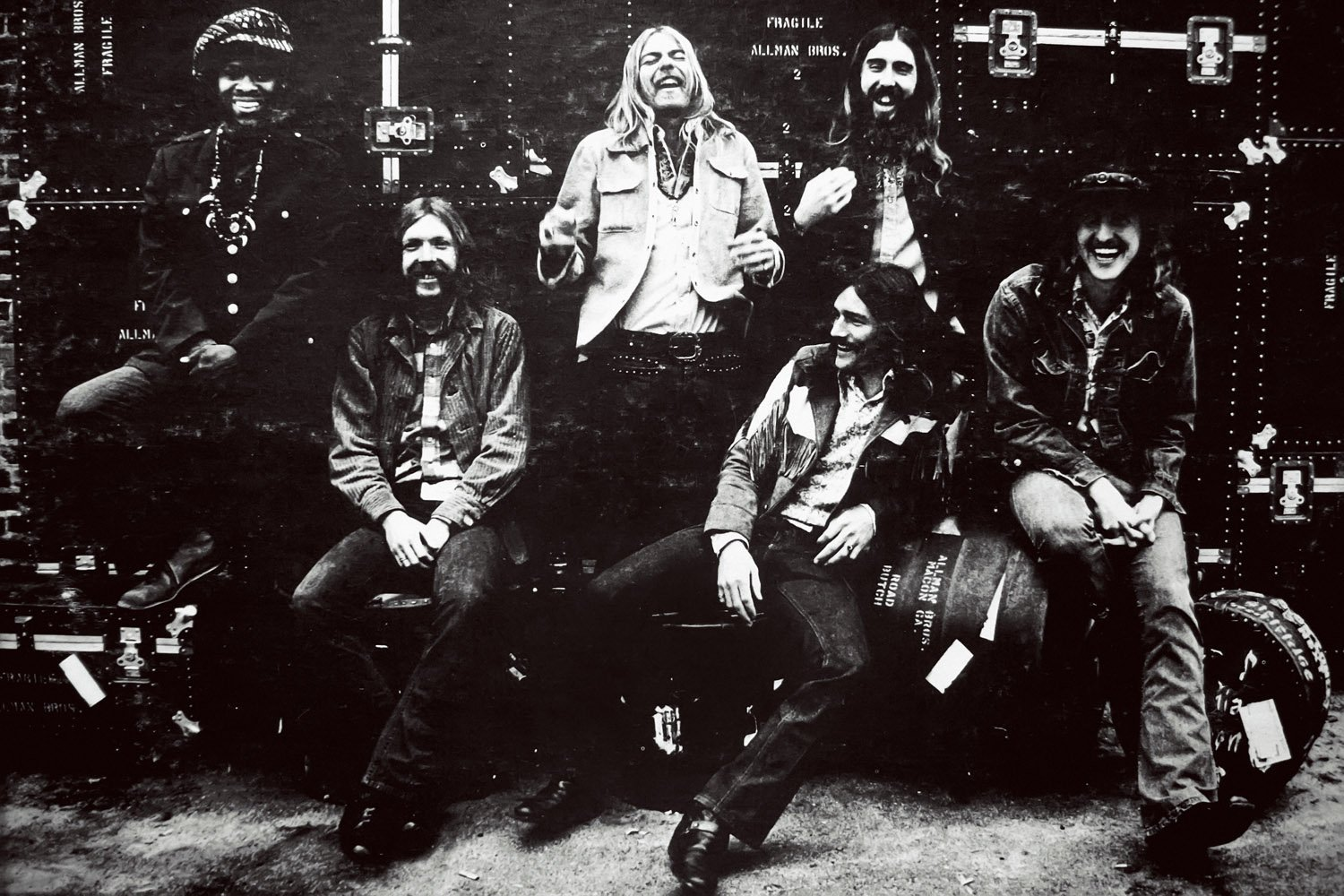The Allman Brothers Band Classic Rock Star Bandポスター 24x36 inches B01N99SY2Z24x36 inches