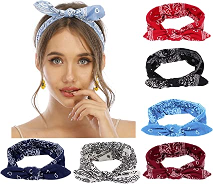 Women Hair Bands Headbands Retro Cross Turban Bandana Headwear Hair Headwrap New