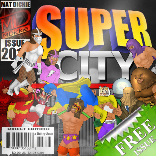 Super City (Superhero Sim) Marvel Heroes Scene