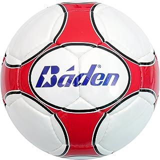 Baden-Ballon de Match-Ballon de Football-Blanc/Rouge