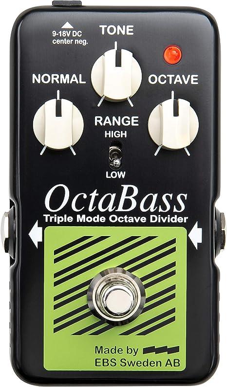 EBS Octabass-BL - Pedal octavador bajo: Amazon.es: Instrumentos ...