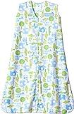 Halo SleepSack Micro-Fleece Wearable Blanket, Blue Jungle, Large