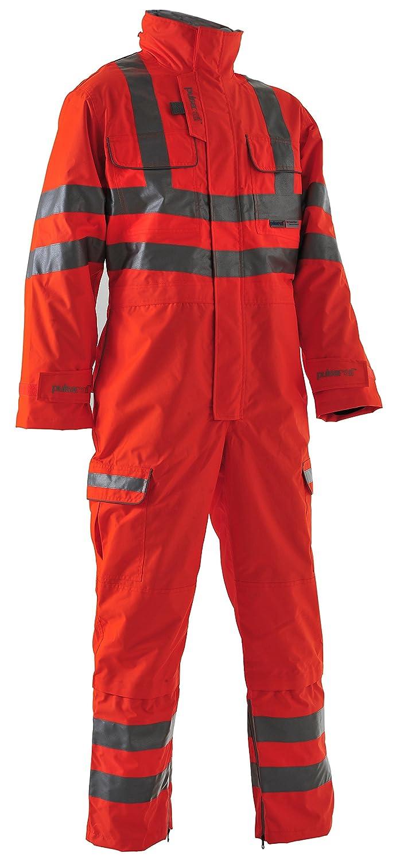 Pulsarail PR336LDS Ladies High VIS Trousers Hi-Viz Orange