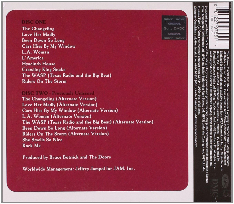 The Doors La Woman 40th Anniversary Edition Amazon Music