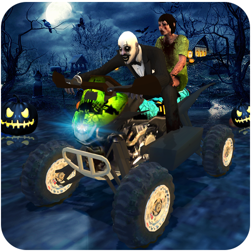 Halloween Party Bike Driver]()
