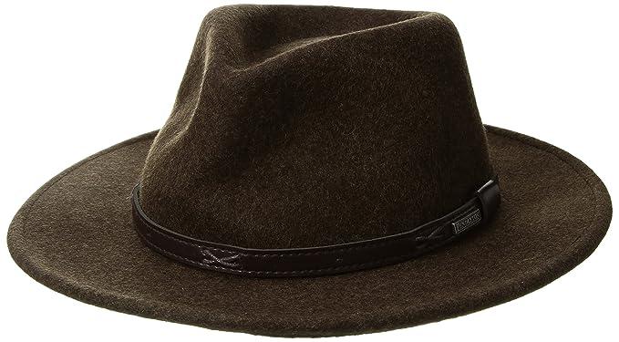 c3b06b0b85830 Pendleton Mens Indiana Hat Fedora  Amazon.ca  Clothing   Accessories