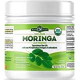 Organic Moringa Oleifera Leaf Powder - USDA Certified Organic Single Origin Moringa Powder from Nicaragua. Perfect for Smooth