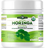 Organic Moringa Oleifera Leaf Powder - USDA Certified Organic Single Origin