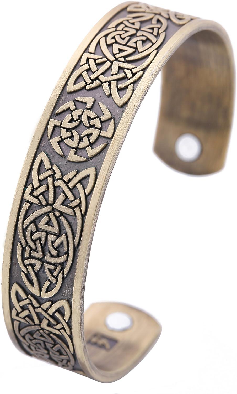 Viking Slavic Kolovrat Sun Wheel Wrist Bracelet