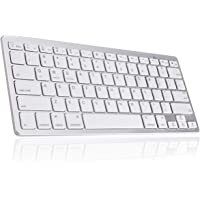 Bluetooth Wireless Keyboard, Ultra Slim Portable Bluetooth Keyboard by Gecen, Compatible with iOS, Android, Windows and…