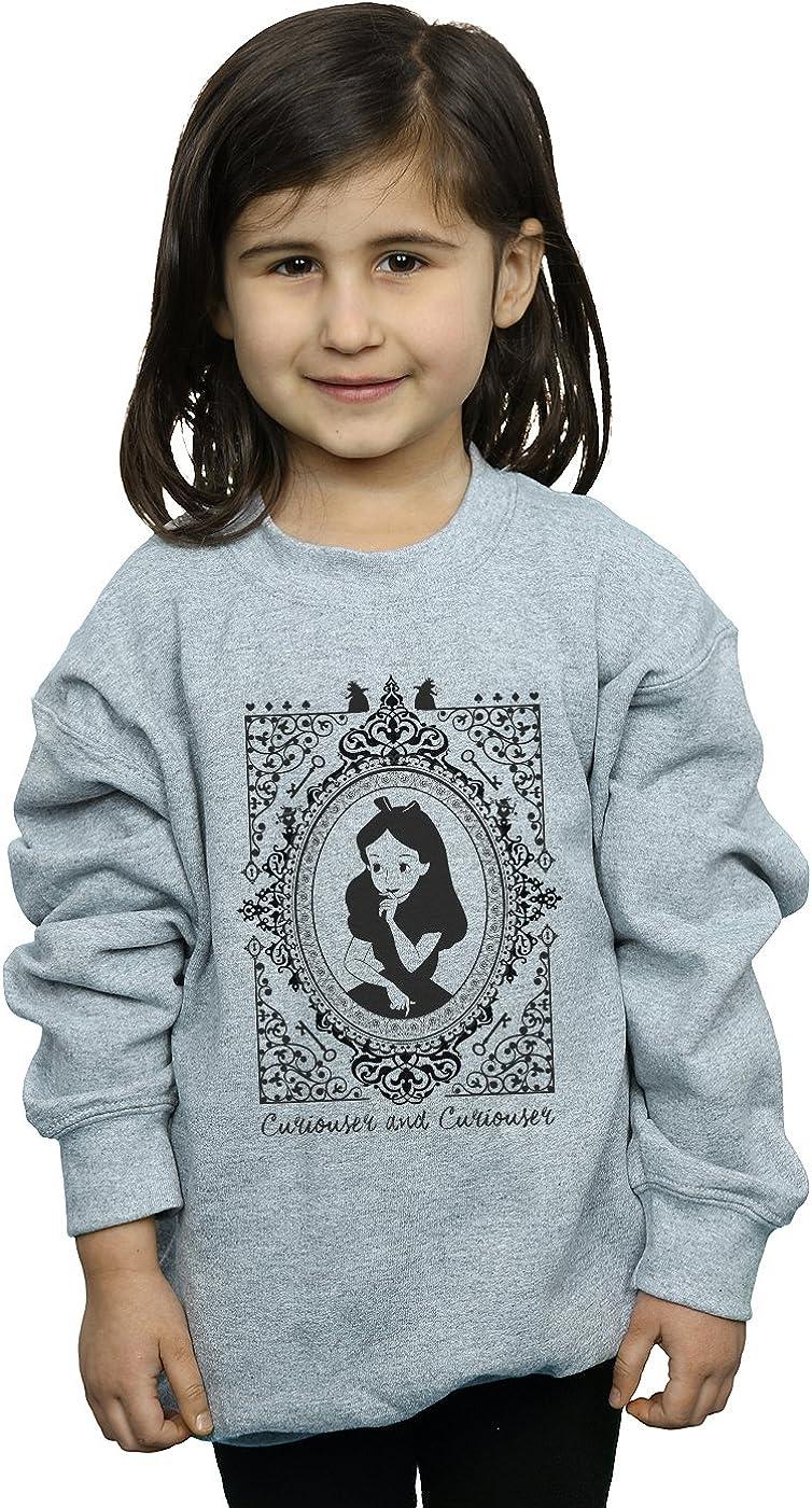 Disney Girls Alice in Wonderland Frame Sweatshirt