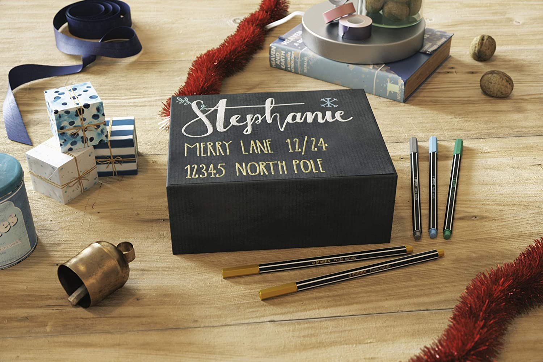Premium-Metallic-Filzstift STABILO Pen 68 metallic gold 2er Pack
