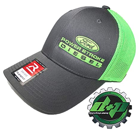 72c896afc34 Image Unavailable. Image not available for. Color  Diesel Power Plus Ford  Powerstroke Trucker hat Richardson Charcoal Gray ...